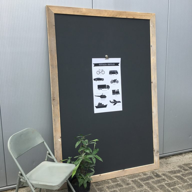 krijt- magneetbord