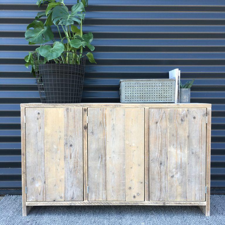 Tv meubel steigerhout