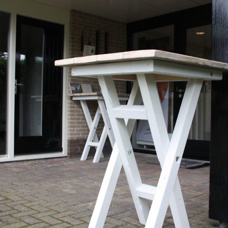 Wonderlijk Statafel steigerhouten | Gari - Outdoor en binnenshuis - De Houttwist RR-55