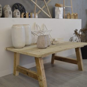 Steigerhouten salontafel Nera
