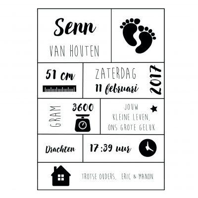 geboorteposter-nederlands