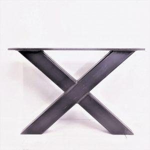 salontafel poten staal