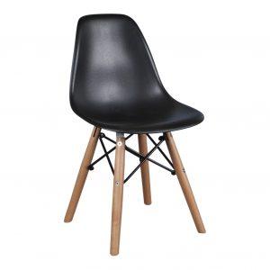 kinder-stoel-zwart