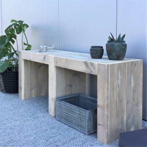 tv meubel steigerhout open vak