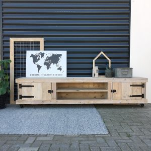 TV meubel op wielen