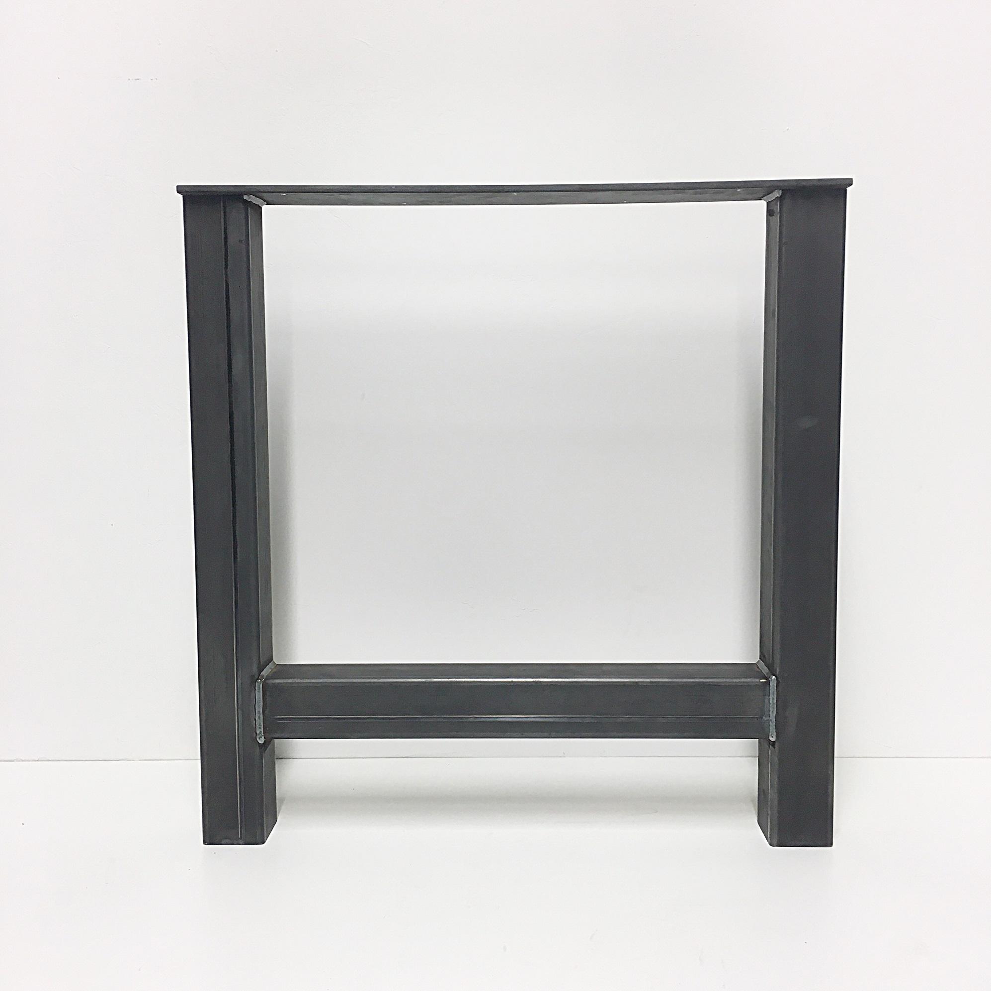 Industriele Tafel Met Stalen Onderstel.Stalen Poten H Vorm Voor Eettafels Industrieel De Houttwist