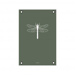 Tuinposter Libelle