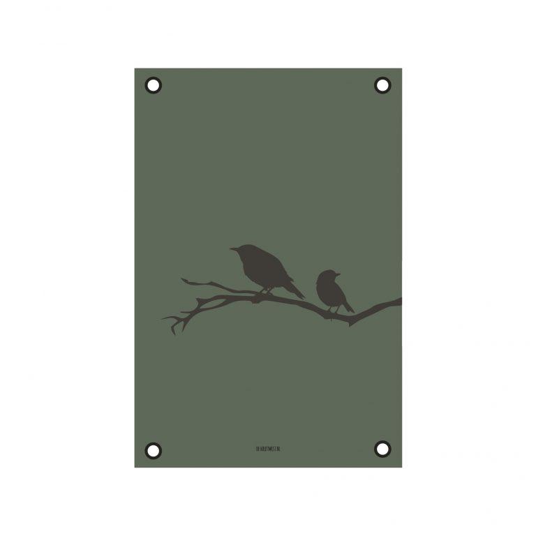 Tuinposter vogels