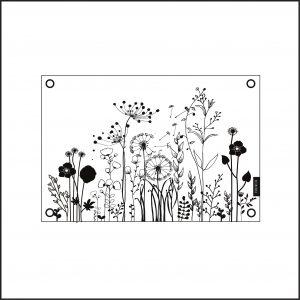 tuinposter wild flowers